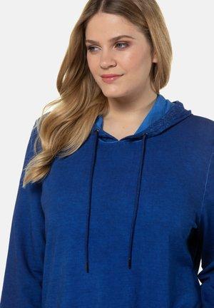 Hoodie - cobalt blue