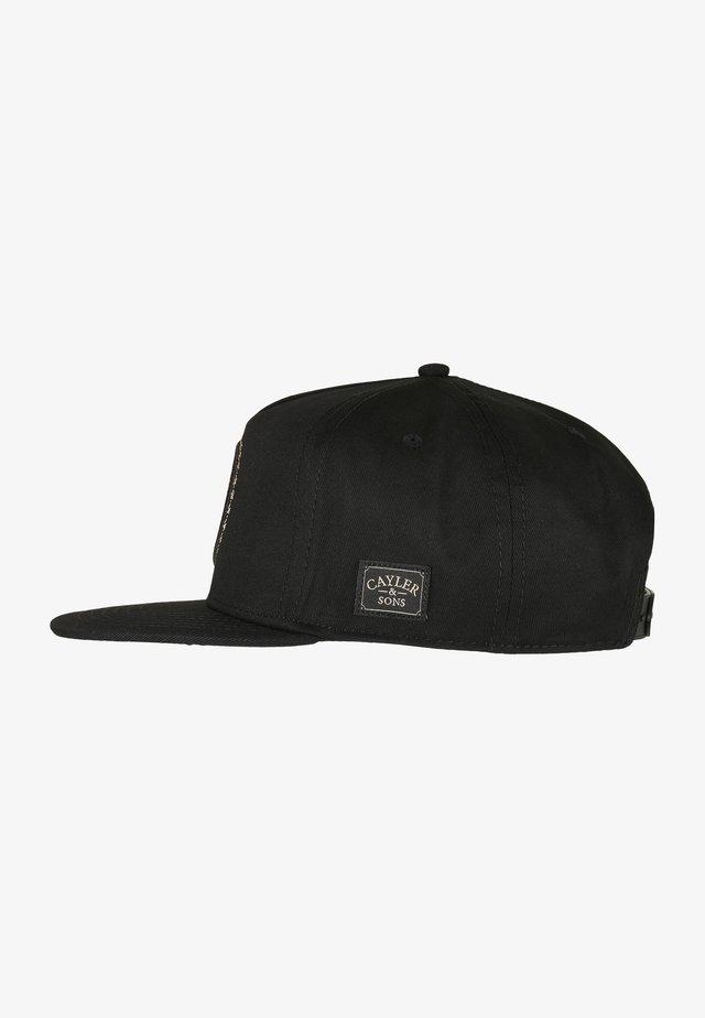 Cap - black/mc