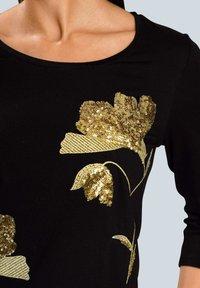 Alba Moda - Long sleeved top - schwarz beige - 3