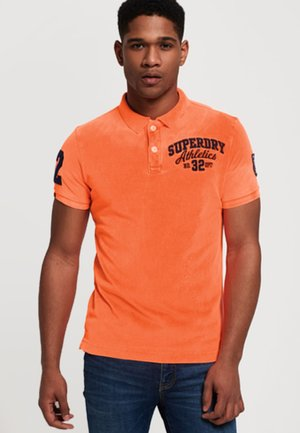 CLASSIC SUPERSTATE  - Polo shirt - neonorange
