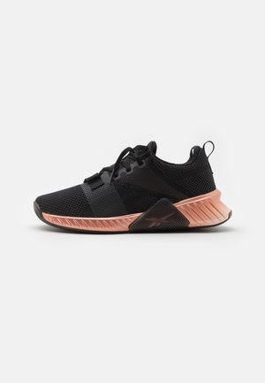 FLASHFILM TRAIN 2.0 - Obuwie treningowe - core black/blush metallic/footwear white