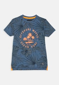 Cars Jeans - KIDS LEANY - Print T-shirt - navy - 0