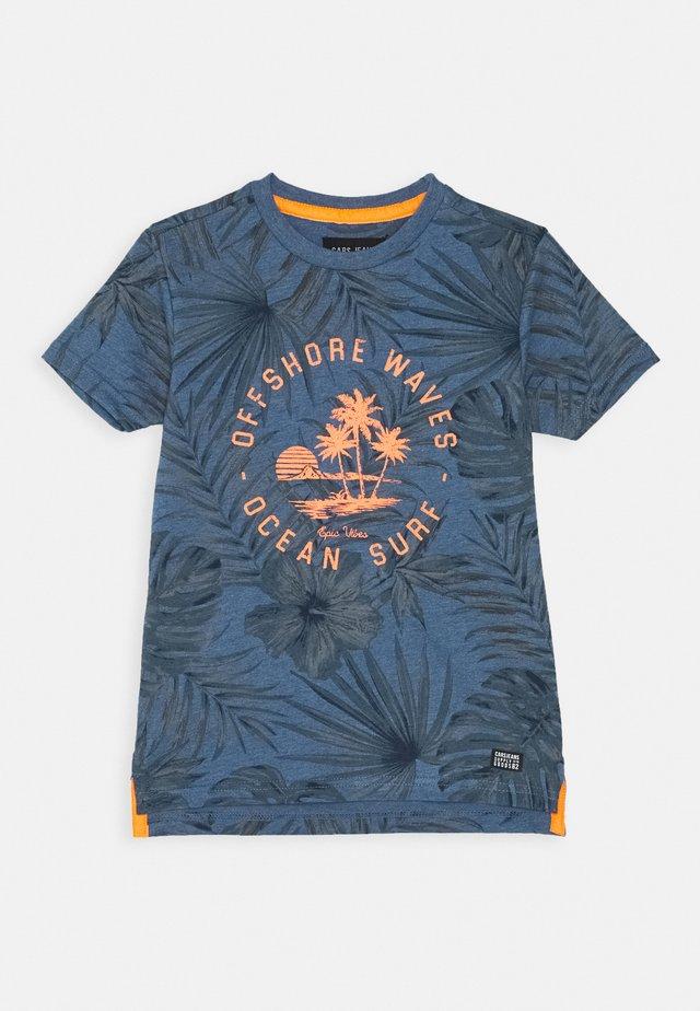 KIDS LEANY - T-shirt imprimé - navy