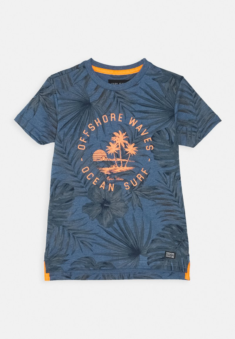 Cars Jeans - KIDS LEANY - Print T-shirt - navy