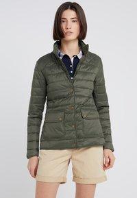 Barbour - BARBOUR COLEDALE QUILT - Down jacket - olive - 0