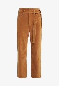 3x1 - KELLY PAPERBAG - Kalhoty - russet - 4