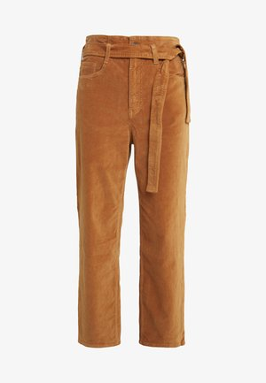 KELLY PAPERBAG - Kalhoty - russet