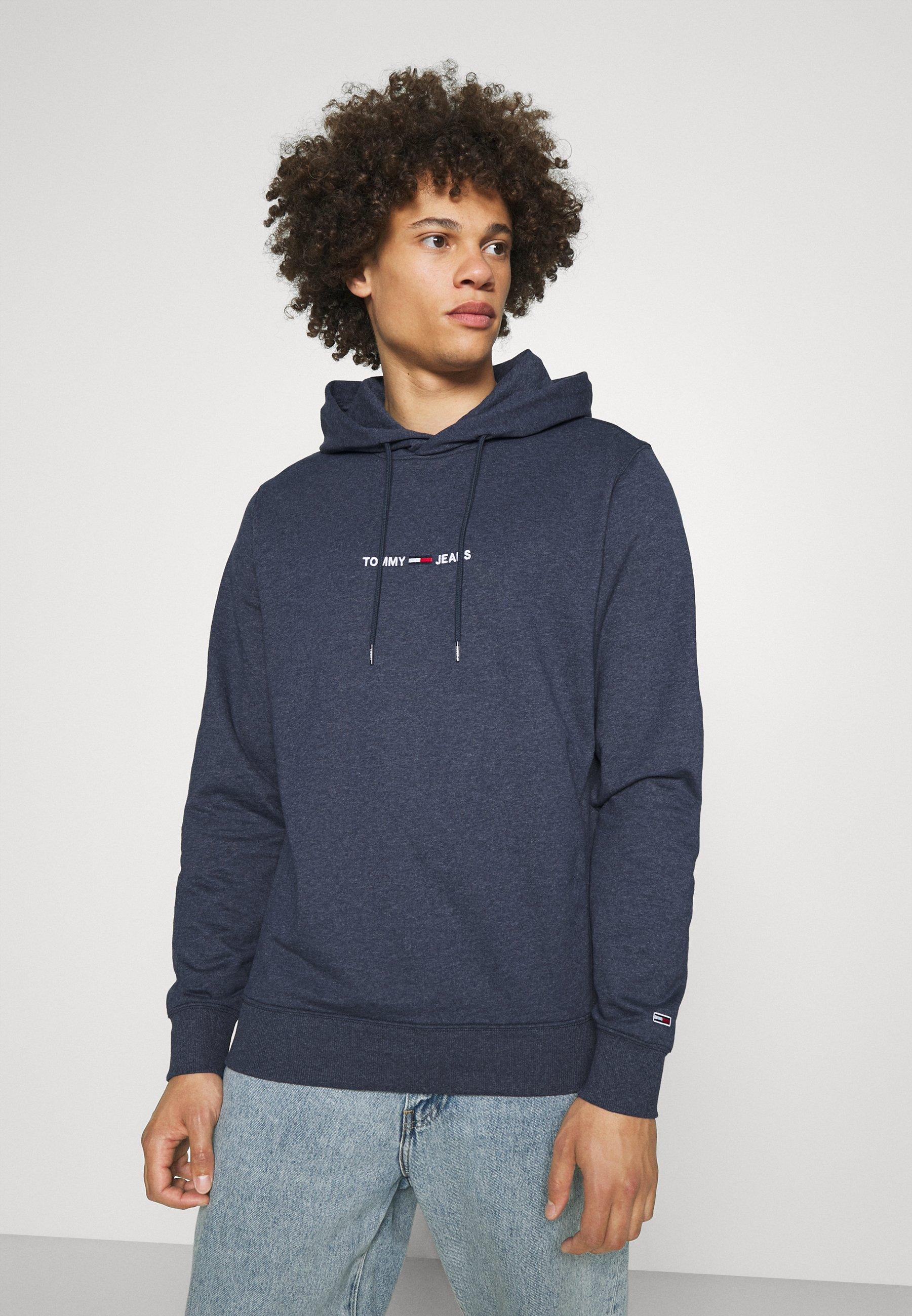 Men STRAIGHT LOGO HOODIE - Sweatshirt