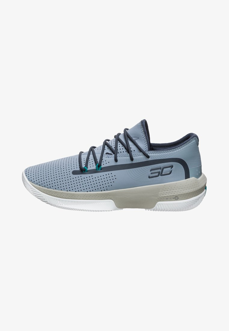 Under Armour - SC 3ZER0 III - Basketball shoes - harbour blue