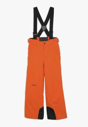 ANDO JUNIOR - Zimní kalhoty - bright orange