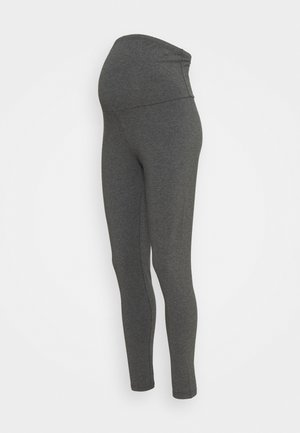 MATERNITY - Leggings - Trousers - black/charcoal