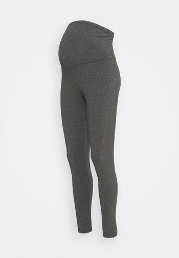 MATERNITY - Leggings - black/charcoal