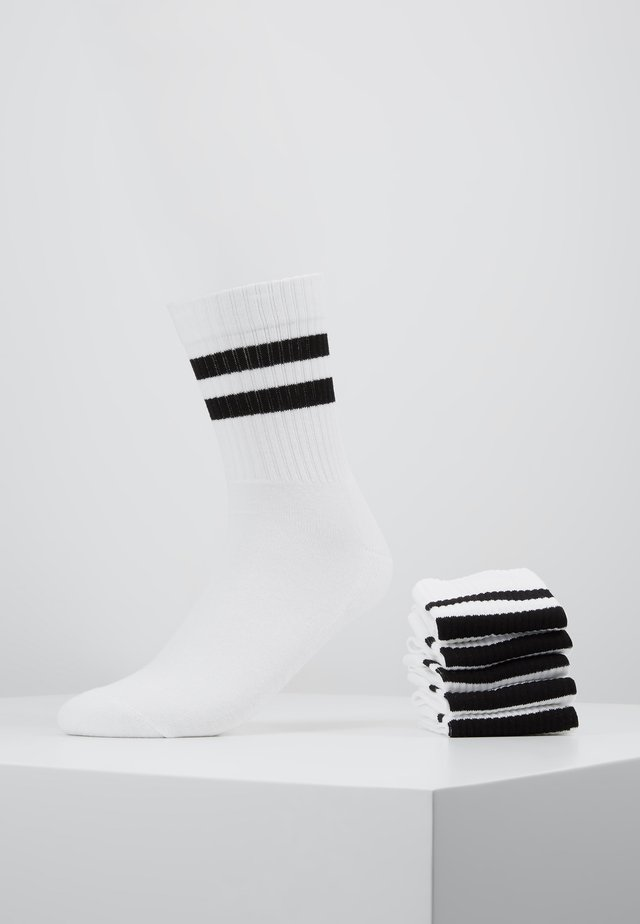 5 PACK - Calcetines - white