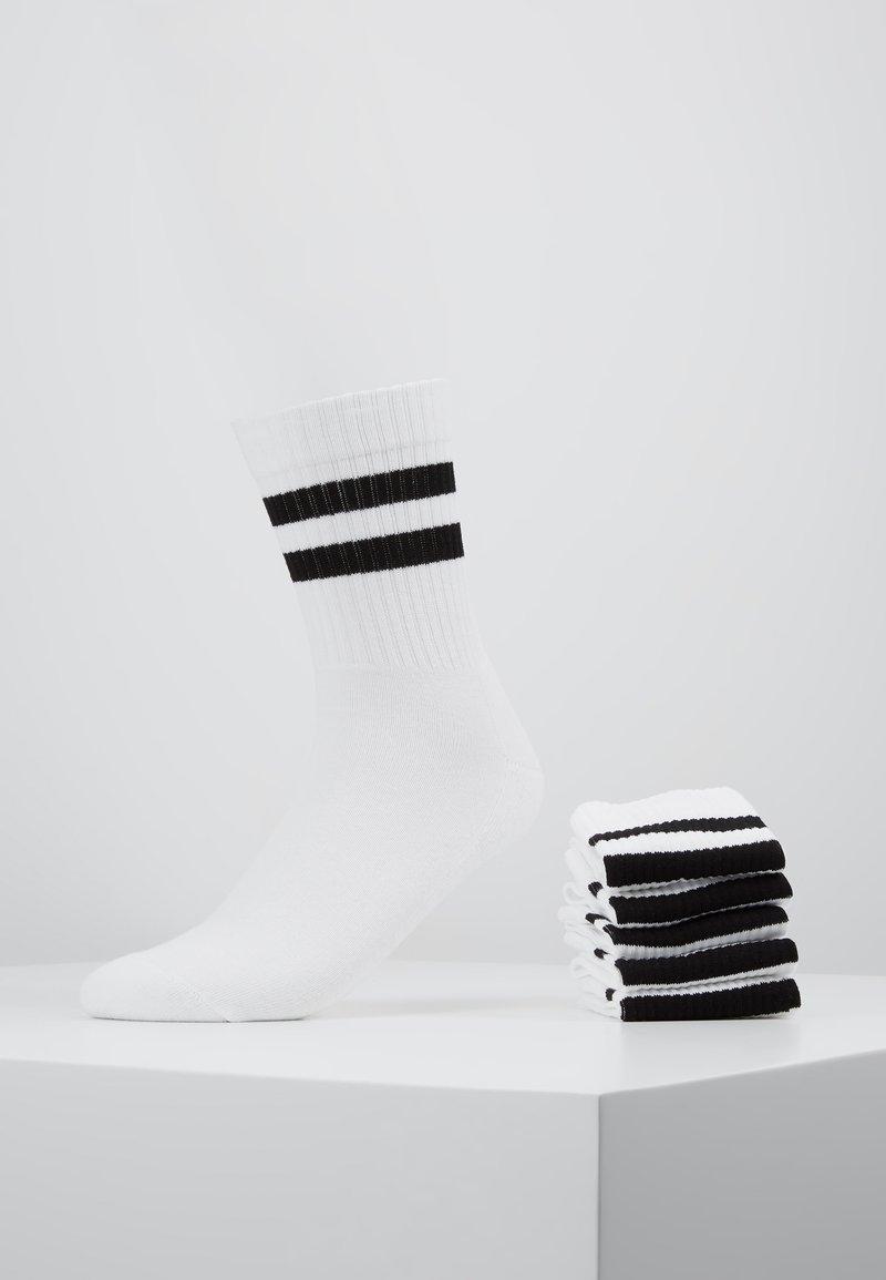 Pier One - 5 PACK - Ponožky - white