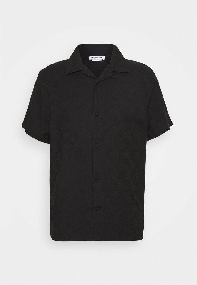 COFFEE PAISLEY SHIRT - Shirt - black