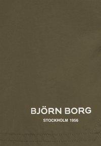 Björn Borg - TRAINING SHORTS - Korte sportsbukser - ivy green - 2