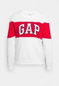 GAP - ORIGINAL CREW - Bluza - white - 3