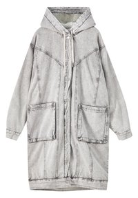 PULL&BEAR - Winter coat - mottled grey - 2