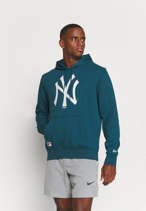 MLB NEW YORK YANKEES SEASONAL TEAM LOGO HOODY - Klubové oblečení - blue/white