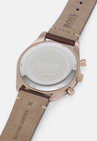 BOSS - SANTIAGO - Chronograph watch - brown/grey - 3