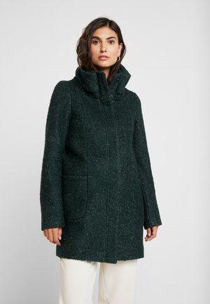 COAT - Short coat - green black