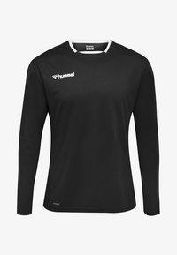 Hummel - HMLAUTHENTIC - Sports shirt - black/white - 0