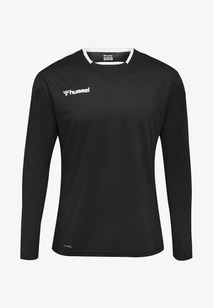 HMLAUTHENTIC - Sports shirt - black/white