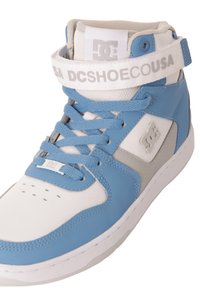 DC Shoes - High-top trainers - white/lt blue - 5