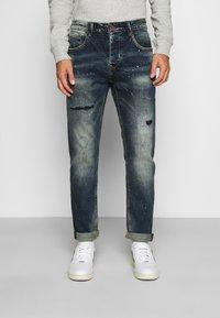 Gianni Lupo - Slim fit jeans - blue denim - 0