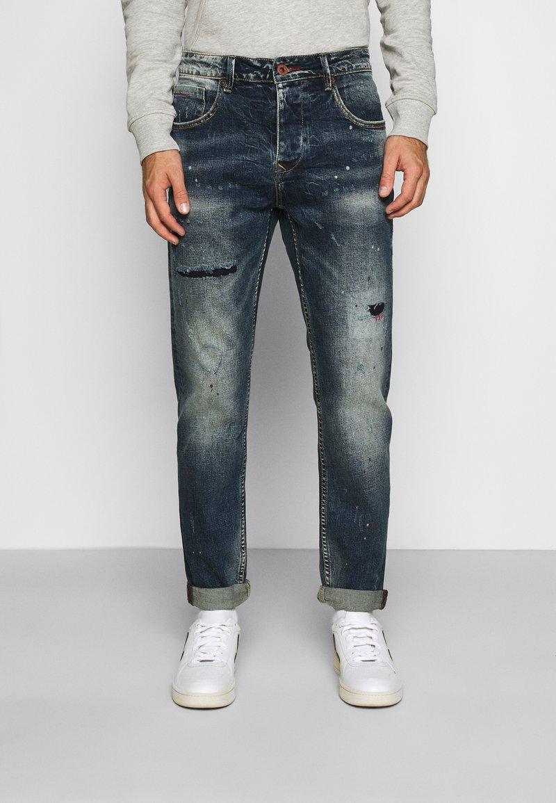 Gianni Lupo - Slim fit jeans - blue denim