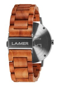 LAIMER - LUCA - Watch - silber/braun - 2