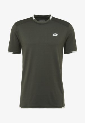 TENNIS TECH TEE - Print T-shirt - green