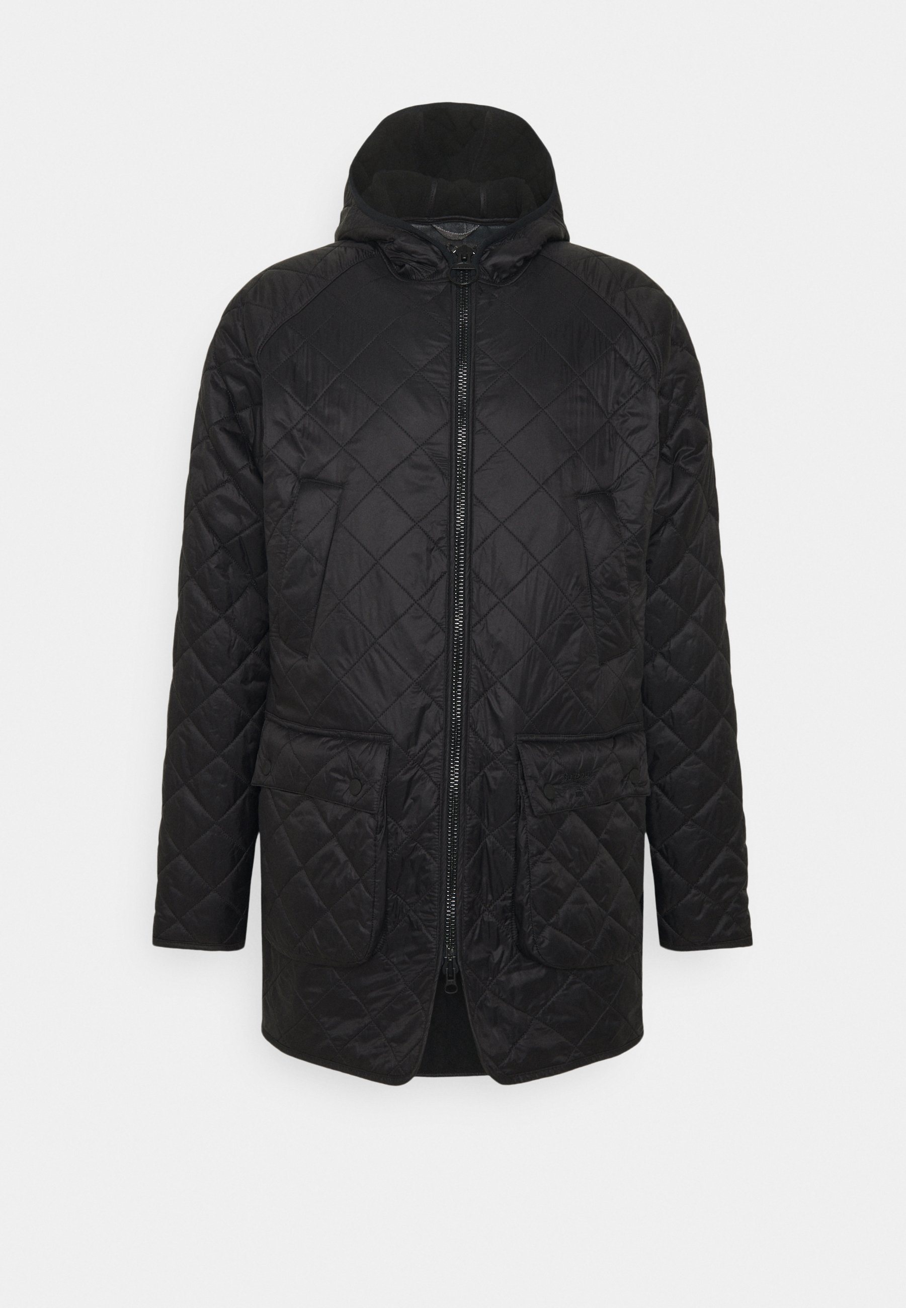 Men HOODED QUILTED BEDALE - Light jacket