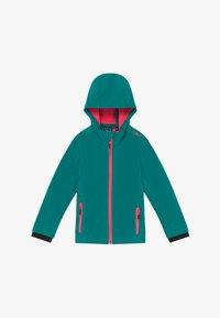 CMP - GIRL FIX HOOD - Soft shell jacket - lake - 2