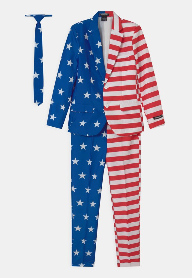 BOYS USA FLAG SET - Kostyme - dark blue