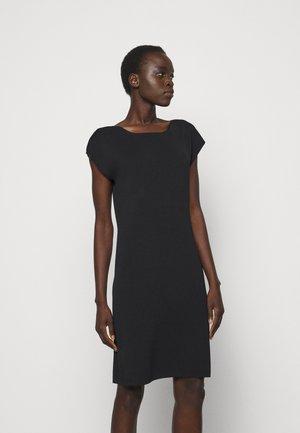 CASSIE - Shift dress - black