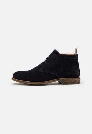SAMI  - Volnočasové šněrovací boty - navy