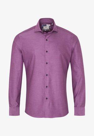 SLIM FIT - Overhemd - aubergine