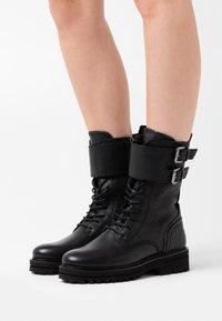 Marc O'Polo - LICIA - Platform boots - black - 0