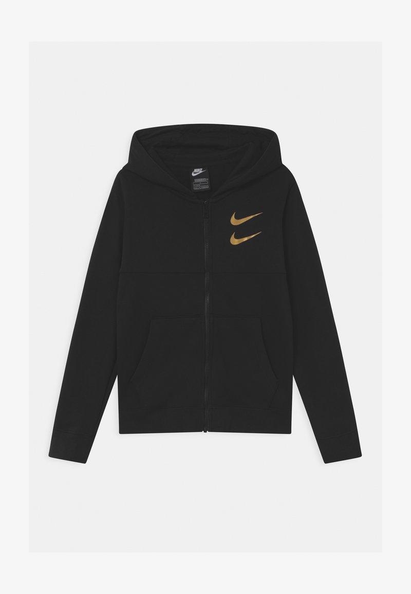 Nike Sportswear - Mikina na zip - black/gold