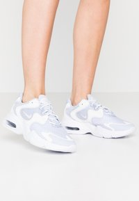 Nike Sportswear - AIR MAX 2X - Trainers - ghost/barely rose/summit white/white - 0