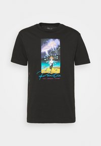 Primitive - SYSTEMS TEE - Print T-shirt - black - 3