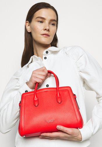 MEDIUM SATCHEL - Handbag - tamarillo