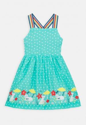 ESSIE REVERSIBLE DRESS - Day dress - pacific aqua