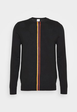 GENTS CREW NECK - Svetr - black