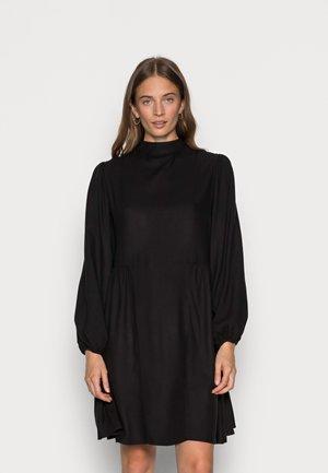 SLFJOFRID SHORT DRESS - Jurk - black