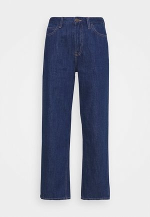 WIDE LEG - Relaxed fit jeans - rinsed denim