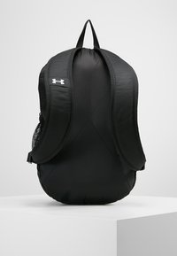 Under Armour - ROLAND  - Rucksack - graphite medium heather/black/white - 3