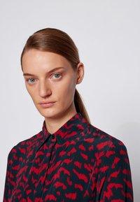 BOSS - Shirt dress - patterned - 4