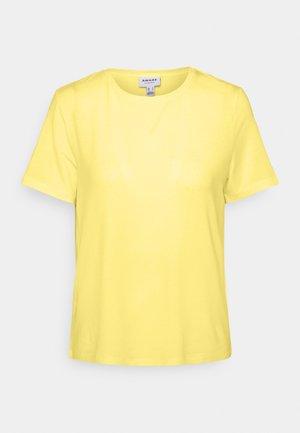 VMAVA - Basic T-shirt - lemonade